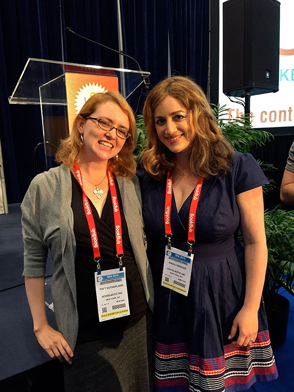 BEA 2015: me and the lovely Tui T. Sutherland