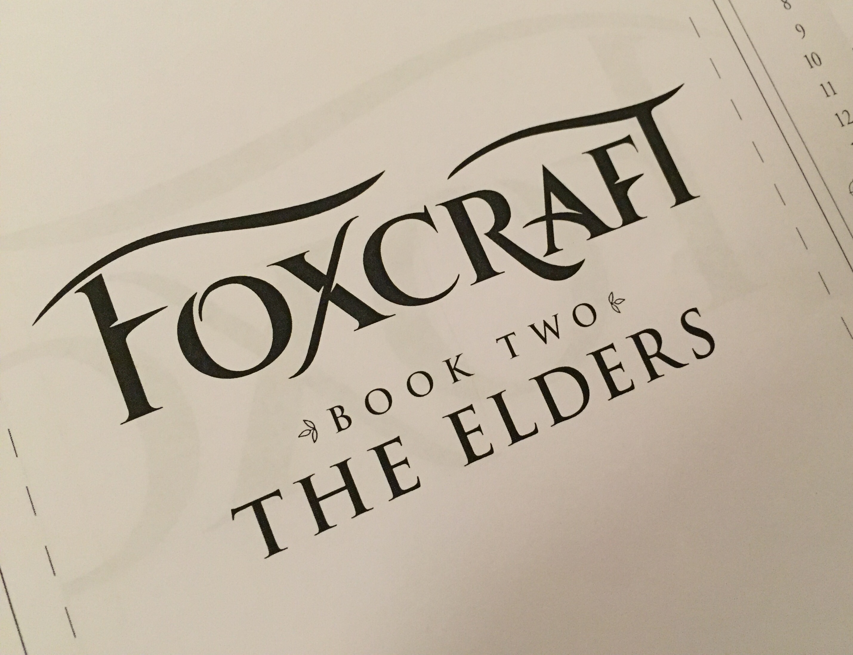 Foxcraft The Elders